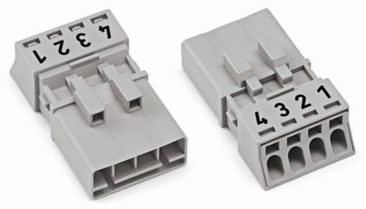 Netz-Steckverbinder WINSTA MINI Serie (Netzsteckverbinder) WINSTA MINI Stecker, gerade Gesamtpolzahl: 4 16 A Schwarz WAG