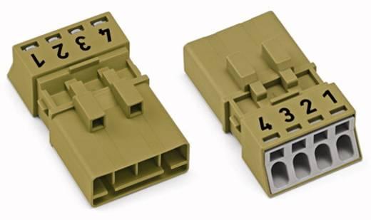 Netz-Steckverbinder Serie (Netzsteckverbinder) WINSTA MINI Stecker, gerade Gesamtpolzahl: 4 16 A Hellgrün WAGO 50 St.