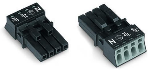 Netz-Steckverbinder Serie (Netzsteckverbinder) WINSTA MINI Buchse, gerade Gesamtpolzahl: 4 16 A Schwarz WAGO 50 St.