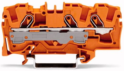 Durchgangsklemme 7.50 mm Zugfeder Orange WAGO 2006-1302 25 St.