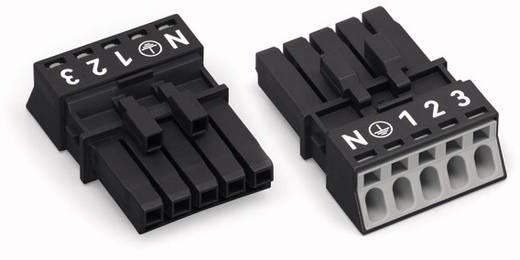 Netz-Steckverbinder Serie (Netzsteckverbinder) WINSTA MINI Buchse, gerade Gesamtpolzahl: 5 13 A Weiß WAGO 50 St.