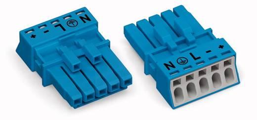 Netz-Steckverbinder Serie (Netzsteckverbinder) WINSTA MINI Buchse, gerade Gesamtpolzahl: 5 16 A Blau WAGO 50 St.