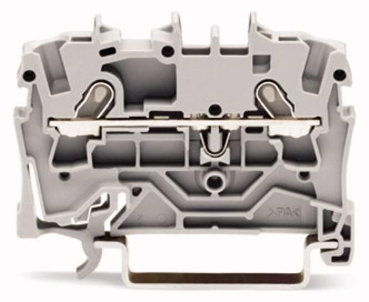 Durchgangsklemme 4.20 mm Zugfeder Gelb WAGO 2001-1206 100 St.