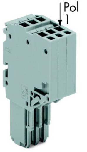 2-Leiter-Federleiste wagobrandshopsteckverbinder 0.14 - 1.5 mm² Grau WAGO 25 St.