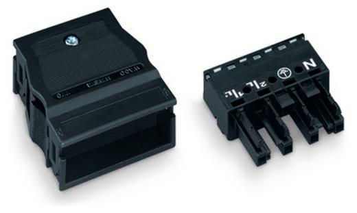 Netz-Steckverbinder Serie (Netzsteckverbinder) WINSTA MIDI Buchse, gerade Gesamtpolzahl: 4 25 A Weiß WAGO 770-124 25 St