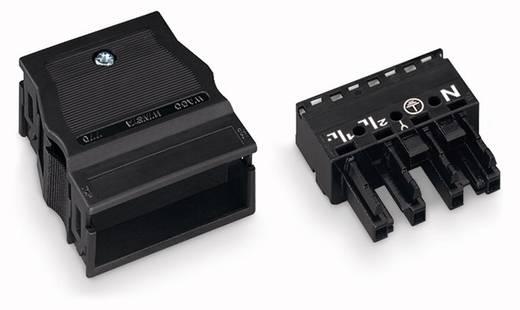 Netz-Steckverbinder Serie (Netzsteckverbinder) WINSTA MIDI Buchse, gerade Gesamtpolzahl: 4 25 A Schwarz WAGO 25 St.