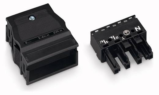 Netz-Steckverbinder Serie (Netzsteckverbinder) WINSTA MIDI Buchse, gerade Gesamtpolzahl: 4 25 A Schwarz WAGO 770-104 25