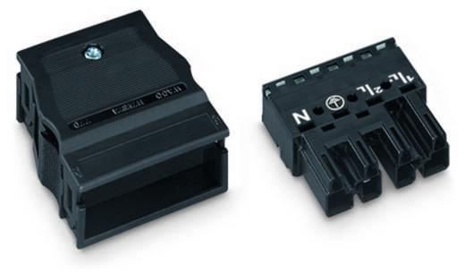 Netz-Steckverbinder WINSTA MIDI Serie (Netzsteckverbinder) WINSTA MIDI Stecker, gerade Gesamtpolzahl: 4 25 A Schwarz WAG