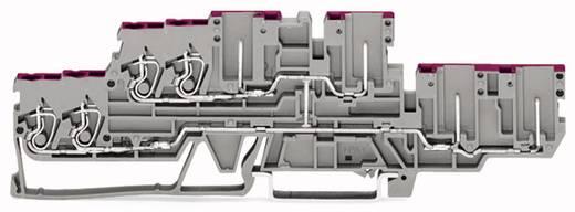 Doppelstock-Durchgangsklemme 5 mm Zugfeder Belegung: L Grau WAGO 870-138 40 St.
