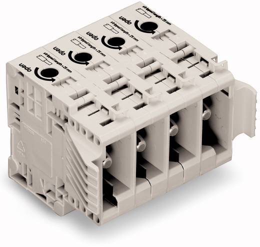 Buchsengehäuse-Kabel 834 Polzahl Gesamt 3 WAGO 834-1203 Rastermaß: 17.50 mm 5 St.