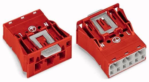 Netz-Steckverbinder Serie (Netzsteckverbinder) WINSTA MIDI Stecker, gerade Gesamtpolzahl: 3 25 A Rot WAGO 100 St.
