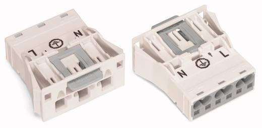 Netz-Steckverbinder WINSTA MIDI Serie (Netzsteckverbinder) WINSTA MIDI Stecker, gerade Gesamtpolzahl: 3 25 A Weiß WAGO