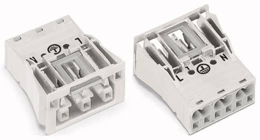 Netz-Steckverbinder Serie (Netzsteckverbinder) WINSTA MIDI Buchse, gerade Gesamtpolzahl: 3 25 A Weiß WAGO 770-723 100 S