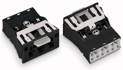 Netz-Steckverbinder Serie (Netzsteckverbinder) WINSTA MIDI Stecker, gerade Gesamtpolzahl: 2 + PE 25 A Weiß WAGO 100 St