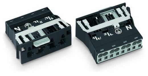 Netz-Steckverbinder Serie (Netzsteckverbinder) WINSTA MIDI Stecker, gerade Gesamtpolzahl: 3 + PE 25 A Schwarz WAGO 100 St.