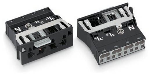 Netz-Steckverbinder Serie (Netzsteckverbinder) WINSTA MIDI Stecker, gerade Gesamtpolzahl: 3 + PE 25 A Weiß WAGO 100 St.