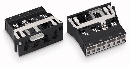 Netz-Steckverbinder Serie (Netzsteckverbinder) WINSTA MIDI Stecker, gerade Gesamtpolzahl: 3 + PE 25 A Weiß WAGO 100 St