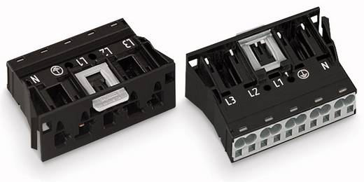 Netz-Steckverbinder Serie (Netzsteckverbinder) WINSTA MIDI Stecker, gerade Gesamtpolzahl: 5 25 A Schwarz WAGO 770-715 1