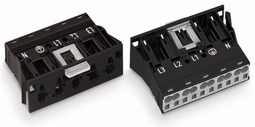 Netz-Steckverbinder Serie (Netzsteckverbinder) WINSTA MIDI Stecker, gerade Gesamtpolzahl: 5 32 A Grün WAGO 100 St.