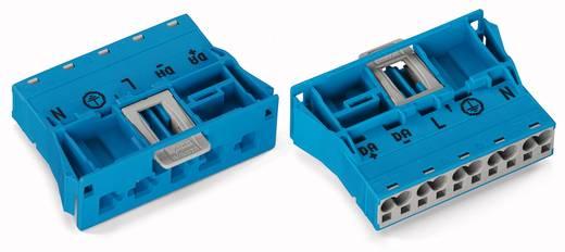 Netz-Steckverbinder Serie (Netzsteckverbinder) WINSTA MIDI Stecker, gerade Gesamtpolzahl: 5 25 A Blau WAGO 770-2115 100