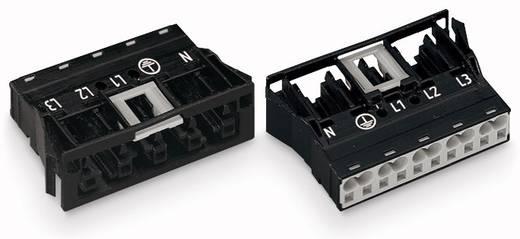 Netz-Steckverbinder Serie (Netzsteckverbinder) WINSTA MIDI Buchse, gerade Gesamtpolzahl: 5 25 A Schwarz WAGO 100 St.