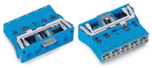 Netz-Steckverbinder WINSTA MIDI Serie (Netzsteckverbinder) WINSTA MIDI Stecker, gerade Gesamtpolzahl: 4 + PE 25 A Weiß W