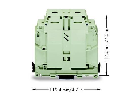 Durchgangsklemme 31 mm Schrauben Belegung: PE Grün-Gelb WAGO 400-499/499-715 10 St.