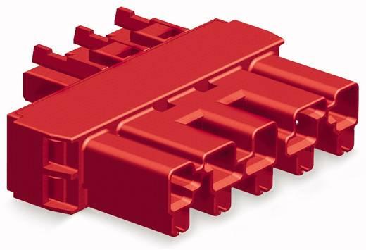 Netz-Zwischenkupplung Netz-Buchse - Netz-Buchse Gesamtpolzahl: 5 Rot WAGO 50 St.