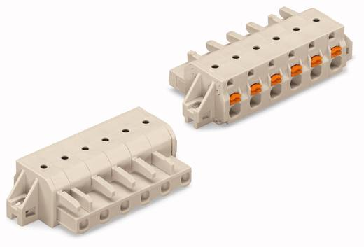 WAGO Buchsengehäuse-Kabel 2721 Polzahl Gesamt 4 Rastermaß: 7.50 mm 2721-204/031-000 50 St.