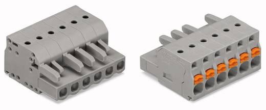 WAGO Buchsengehäuse-Kabel 2231 Polzahl Gesamt 6 Rastermaß: 5 mm 2231-106/026-000 50 St.