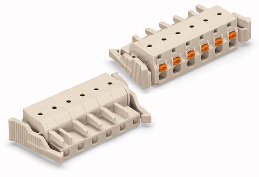 WAGO Buchsengehäuse-Kabel 2721 Polzahl Gesamt 2 Rastermaß: 7.50 mm 2721-202/037-000 50 St.