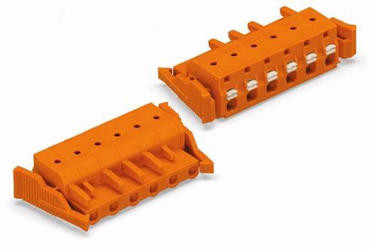 WAGO Buchsengehäuse-Kabel 2231 Polzahl Gesamt 6 Rastermaß: 7.62 mm 2231-706/037-000 25 St.