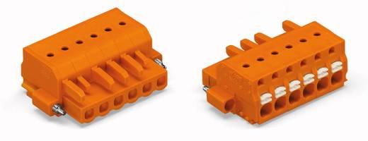 Buchsengehäuse-Kabel 2231 Polzahl Gesamt 6 WAGO 2231-306/107-000 Rastermaß: 5.08 mm 50 St.