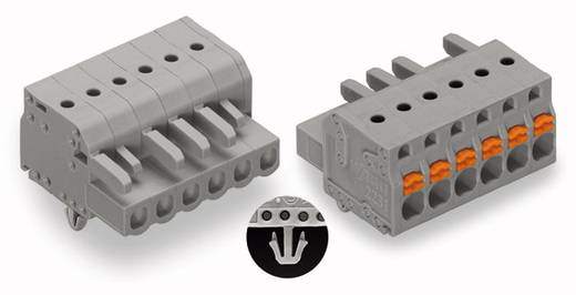 WAGO Buchsengehäuse-Kabel 2231 Polzahl Gesamt 5 Rastermaß: 5 mm 2231-105/008-000 100 St.