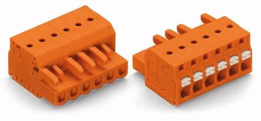 Buchsengehäuse-Kabel 2231 Polzahl Gesamt 6 WAGO 2231-306/026-000 Rastermaß: 5.08 mm 50 St.
