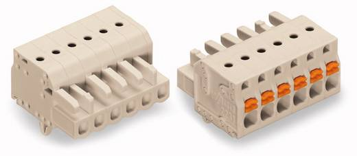 Buchsengehäuse-Kabel 2721 Polzahl Gesamt 2 WAGO 2721-102/008-000 Rastermaß: 5 mm 100 St.