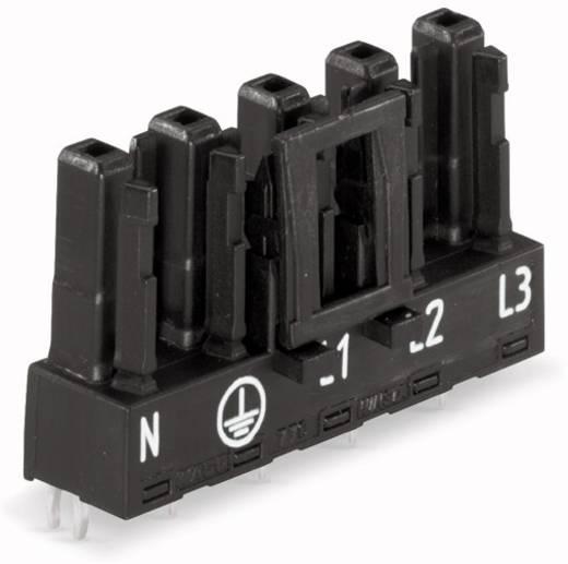 Netz-Steckverbinder Serie (Netzsteckverbinder) WINSTA MIDI Buchse, Einbau horizontal Gesamtpolzahl: 5 25 A Blau WAGO 77