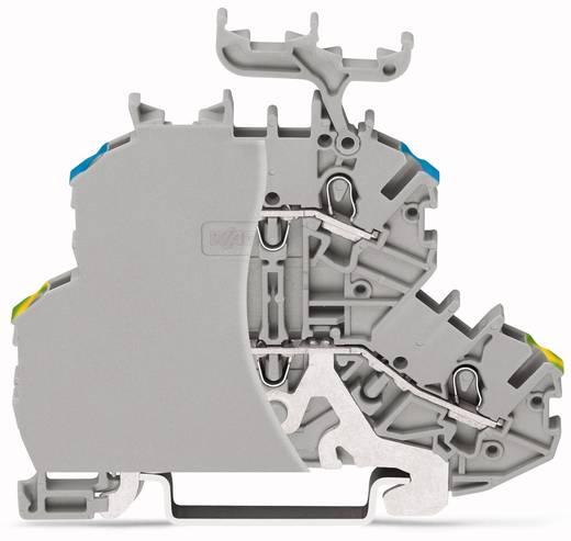 Doppelstock-Durchgangsklemme 4.20 mm Zugfeder Belegung: L Grau WAGO 2000-2217/099-000 50 St.