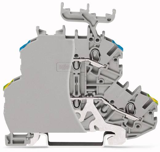 Doppelstock-Durchgangsklemme 4.20 mm Zugfeder Belegung: L Grau WAGO 2000-2247/099-000 50 St.