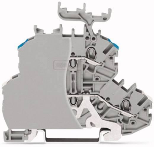 Doppelstock-Durchgangsklemme 4.20 mm Zugfeder Belegung: L Grau WAGO 2000-2218/099-000 50 St.