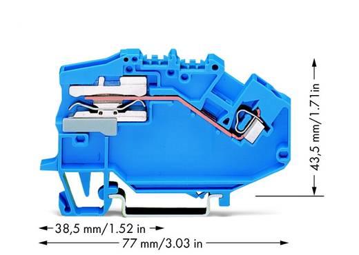 Trennklemme 5 mm Zugfeder Belegung: N Blau WAGO 780-613 50 St.