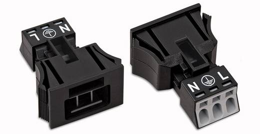 Netz-Steckverbinder WINSTA MINI Serie (Netzsteckverbinder) WINSTA MINI Stecker, gerade Gesamtpolzahl: 3 16 A Schwarz WAG