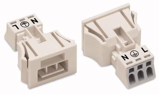Netz-Steckverbinder WINSTA MINI Serie (Netzsteckverbinder) WINSTA MINI Stecker, gerade Gesamtpolzahl: 3 16 A Weiß WAGO