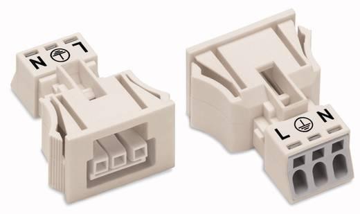 Netz-Steckverbinder WINSTA MINI Serie (Netzsteckverbinder) WINSTA MINI Buchse, gerade Gesamtpolzahl: 3 16 A Schwarz WAGO