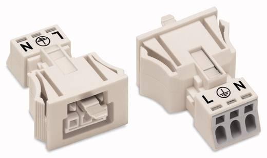 Netz-Steckverbinder WINSTA MINI Serie (Netzsteckverbinder) WINSTA MINI Buchse, gerade Gesamtpolzahl: 3 16 A Weiß WAGO 5