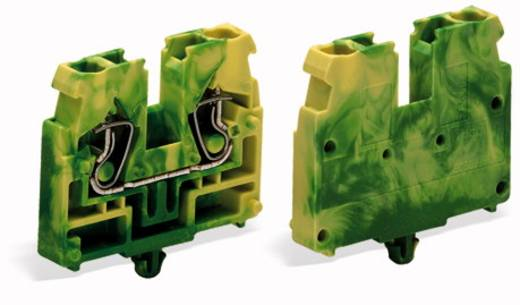Durchgangsklemme Federklemme Grün-Gelb WAGO 869-337 100 St.