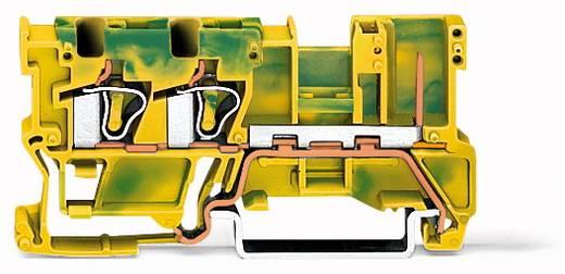 Basisklemme 5 mm Zugfeder Belegung: PE Grün-Gelb WAGO 769-257 50 St.