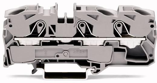 Durchgangsklemme 12 mm Zugfeder Schwarz WAGO 2016-1305 20 St.