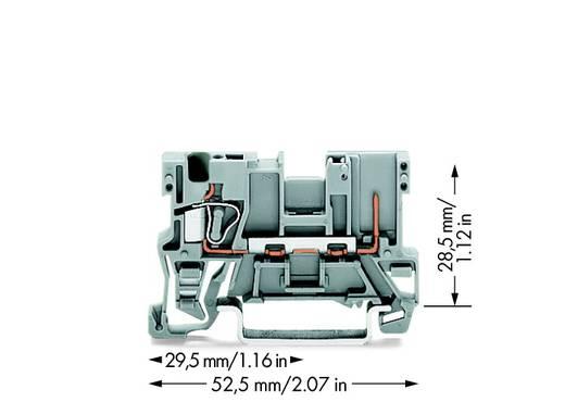 Basisklemme 5 mm Zugfeder Belegung: L Grau WAGO 769-176 100 St.