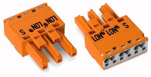Netz-Steckverbinder WINSTA MIDI Serie (Netzsteckverbinder) WINSTA MIDI Buchse, gerade Gesamtpolzahl: 3 25 A Orange WAGO